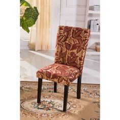 Combining fashion and comfort, these beautiful chairs also have a contoured back and a comfortable seating cushion.