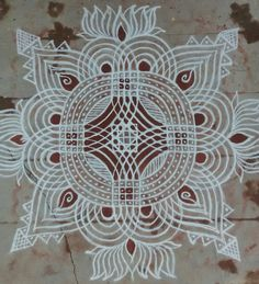 Rangoli Designs Images, Beautiful Rangoli Designs, Mehandi Designs, Happy Morning Quotes, Padi Kolam, Indian Rangoli, Flower Rangoli, Simple Rangoli, Projects To Try