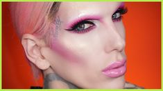 jeffreestar, EXPRESS YOURSELF. CREATE WITHOUT LIMITATIONS. CREATE WITHOUT FEAR OF JUDGEMENT. Hey everyone! Today I felt like re-creating one of my old favorite looks from years ago! I used to always use neon blushes for contour and LOVED doing dramatic eye makeup without brows! That alien high fashion glamour was fun and so many people are afraid o..., http://ourmall.com/r/j22UFb