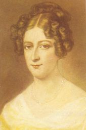 Rahel Varnhagen geb. Levin  (1771 Berlin-1833 Berlin) war eine deutsche Schriftstellerin und Salonnière.  Sie gehörte der romantischen Epoche an.  R. V. was a German writer and Salonnière.  She was a member of the Romantic era.