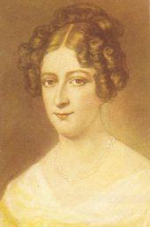 Rahel Varnhagen geb. Levin  (1771 Berlin-1833 Berlin) war eine deutsche Schriftstellerin und Salonnière.  Sie gehörte der romantischen Epoche an.  R. V. was a German writer and Salonnière.  She was a member of the Romantic era.