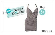 WIN: A Sexy Open-Back Dress From GUESS