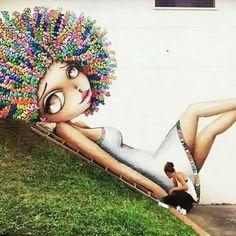 Mural by Vinie Graffiti