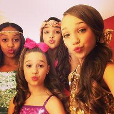 Nia,Kendall,Mackenzie,and Maddie at KCA 2014!!!