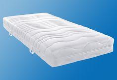 Viel Qualität - viel sparen! Diese 7-Zonen-Taschenfederkernmatratze (390 Stück bezogen auf das Federkernmaß 100x200 cm (baugleich mit f.a.n. Climasan Relax T/ Air T)) sorgt für eine sehr gute Körperunterstützung und Anpassungsfähigkeit sowie für ein angenehm trockenes Schlafklima. Darüber hinaus bietet der extra verstärkte Randbereich dieser Matratze, welcher somit auch als Sitzkante benutzt we...