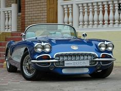 Corvette 1960 Convertible @ J.Codo | take five for a coffee break http://josecodo.wordpress.com found on the web