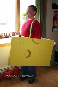 Cheese costume for Joe