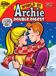 """Read """"World of Archie Double Digest by Archie Superstars available from Rakuten Kobo. Is Archie a man or a mouse? Hell let you know after he asks Veronica! Feeling annoyed at everyones assumption that hes """". Archie Comics Strips, Archie Comics Characters, Archie Comic Books, Comic Book Characters, Comic Character, Double Digest, Archie Comics Riverdale, Archie And Betty, Christmas Comics"""