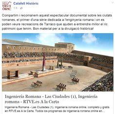 WEBSEGUR.com: INGENIERÍA ROMANA (TARRACO) 1ª PARTE