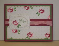 Stampin Up Baby blossoms