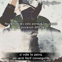 IG: ShuOumaGcrow anime frases anime frases sentimientos kakashi Na. Anime Naruto, Otaku Anime, Manga Anime, Kakashi Sensei, Itachi, Naruto Quotes, Anime Triste, Tamako Love Story, Trauma
