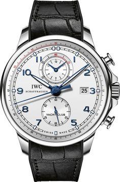 La Cote des Montres : La montre IWC Portugaise Yacht Club Chronographe « Ocean Racer » - Pour le coup d'envoi de la Volvo Ocean Race, IWC Schaffhausen