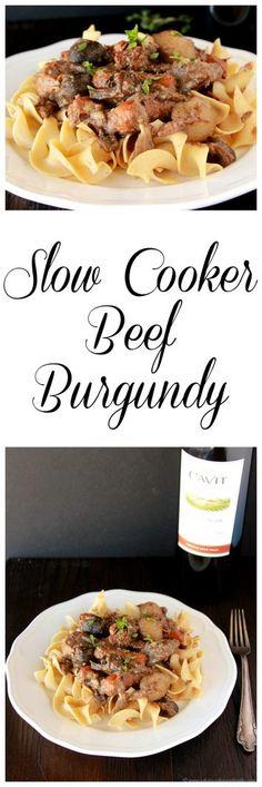 Slow Cooker Beef Bur