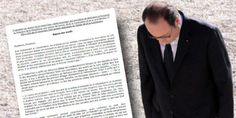 """Le député Pierre Lellouche demande à ses collègues de signer une résolution pour destituer François Hollande à cause du livre """"Un président ne devrait pas dire ça""""."""