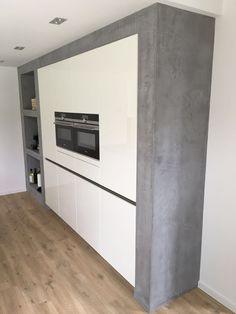 #betoncire #keuken #beal #mortex #betonlook