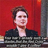 Karen Walker Will and Grace | the best gifs i love her will and grace karen walker megan mullally ...