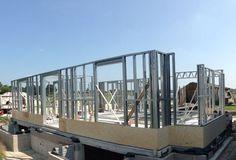 chantier ossature métallique