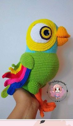 Puppets, Yoshi, Tweety, Minions, Dinosaur Stuffed Animal, Handmade, Animals, Character, Etsy