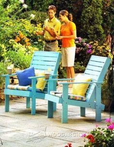 Tree Bench Plans - Outdoor Furniture Plans and Projects | WoodArchivist.com