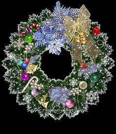 ☃Christmas GiF☃ from Shelly Shock Christmas Scenes, Noel Christmas, Merry Christmas And Happy New Year, Christmas Pictures, Christmas Greetings, Winter Christmas, All Things Christmas, Christmas Lights, Christmas Wreaths