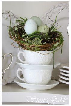Easter tea time