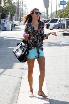 Alessandra Ambrosio style 2012