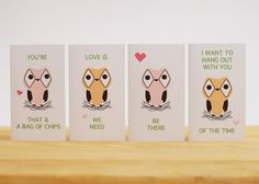 Owl love notes!