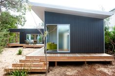 Container House - chalet prefabrique ecoliv - Who Else Wants Simple Step-By-Step Plans To Design And Build A Container Home From Scratch? Container Home Designs, Bungalow, Style Cottage, Building A Container Home, Sustainable Living, Cabana, Modern Architecture, Building A House, Beach House