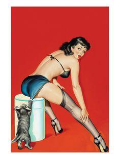 Flirt Magazine; Playful Pussy Premium Poster at AllPosters.com