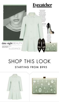 """""""Date Beauty & Elegance"""" by emcf3548 ❤ liked on Polyvore featuring Clinique, RED Valentino, Elie Saab, Yves Saint Laurent, women's clothing, women, female, woman, misses and juniors"""
