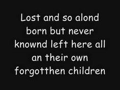 Forgotten Children by Tokio Hotel. The best song on their Scream album