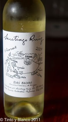 Albarino is the most recognised white wine variety in Galicia - crisp, aromatic dry wines ideal for seafoods