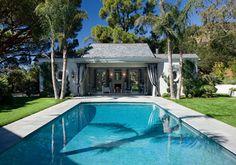 Hollywood Regency, Montecito - traditional - pool - santa barbara - Maienza-Wilson Interior Design + Architecture