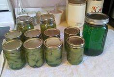 Green Lime Cucumber Pickles and Squash Lime Pickles Lime Pickles, Pickels, Canning Recipes, Squash, Cucumber, Mason Jars, Green, Blog, Pumpkins