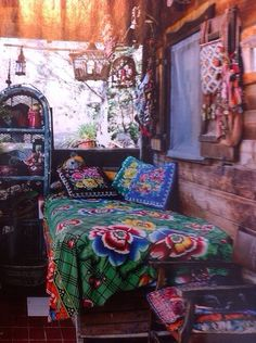Cute tapestries hippie bohemian bedroom