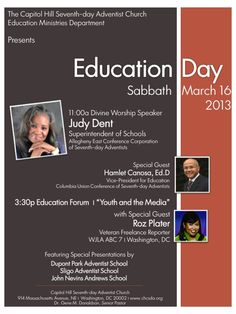 FLYER - Education Day 03.16.13