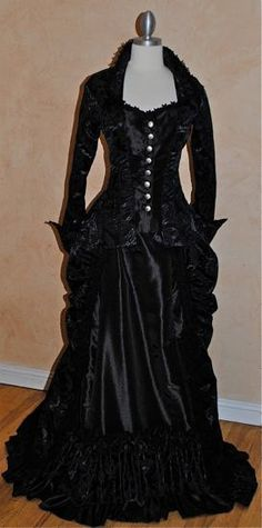 Victorian Gothic Steampunk Reproduction 3pce by RomanticThreads.