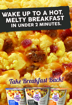 Take breakfast back with Just Crack An Egg breakfast bowls. Simpy crack a fresh egg over our tasty ingredients for a hot, fluffy scrambled egg breakfast. Seafood Recipes, Keto Recipes, Chicken Recipes, Cooking Recipes, Healthy Recipes, Healthy Tips, 100 Calories, Breakfast Bowls, Breakfast Recipes
