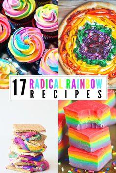 17 Radical Rainbow R