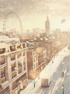 Christmas Inspiration | 'Tis The Season: Burberry & London