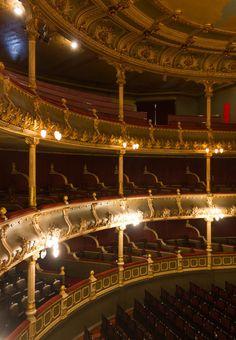 Auditorium at the Teatro Nacional San José Costa Rica [OC]...