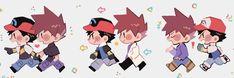 Gary Pokemon, Pokemon Tv, Pokemon Manga, Pokemon Pins, Pokemon Comics, Cute Pokemon, Satoshi Pokemon, Pokemon Kalos, Green Pokemon