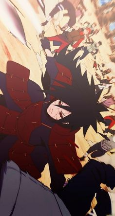Madara Uchiha is one of the most legendary and famous Uchiha clan leaders. Living since the war era, he still caused problems until the Naruto era. Itachi Uchiha, Naruto Shippuden Sasuke, Madara Susanoo, Wallpaper Naruto Shippuden, Naruto And Sasuke, Boruto, Otaku Anime, Anime Naruto, Manga Anime