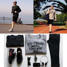 Haftaya enerjik baslamak icin sabah kosusuna ciktiniz mi? Ustunuzu giyin ve disari cikin! ExcuseMeMan.com/runningman