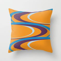Carnival Throw Pillow cover by Ramon Martinez Jr - $20.00