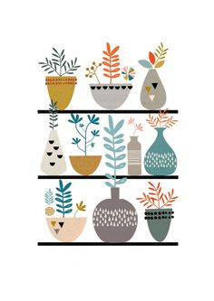 Artprint Illustrated Paper Moon` : shop @petitelouise   #illustration #flavlive #papieratelie