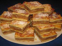Beautiful Desserts, Hungarian Recipes, Apple Cake, Winter Food, French Toast, Bakery, Deserts, Goodies, Dessert Recipes