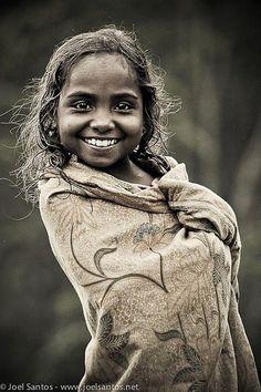 Portrait of a child from East Timor (Timor-Leste.)