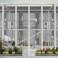 Drawing Through Form And Composition   Karolina Czeczek @ Yale School of Architecture, Project from advanced design studio, Spring Spring 2014, Pieri Vittorio Aureli_3