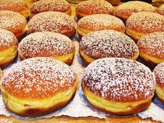 Pączki Day in the Mitten: It's Not Just a Donut! Jam Doughnut Recipe, Doughnut Muffins, Baked Doughnuts, Donuts, Beignets, Nutella, Polish Recipes, Latest Recipe, Food Reviews